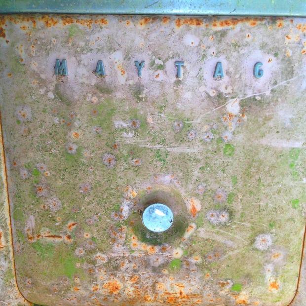 old washing machine