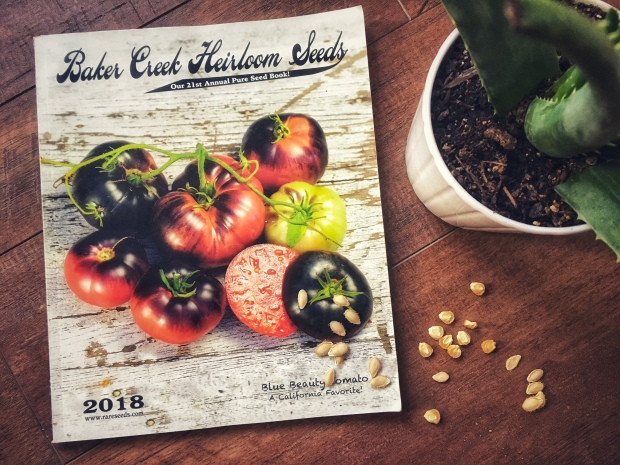 Sprout and Sprig's Baker Creek Heirloom Seed Order