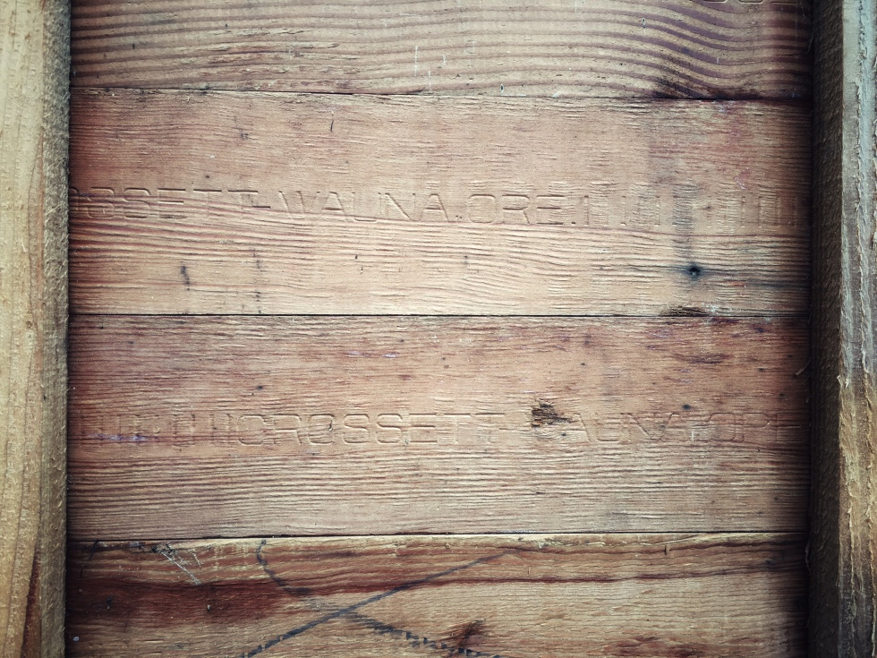 Old wood for the woodshed